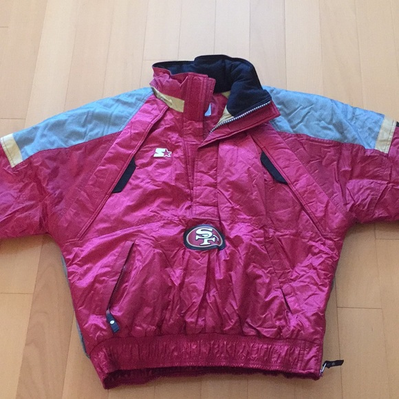 detailing 0e57b 07ee1 Men's San Francisco 49ers Jacket - like new
